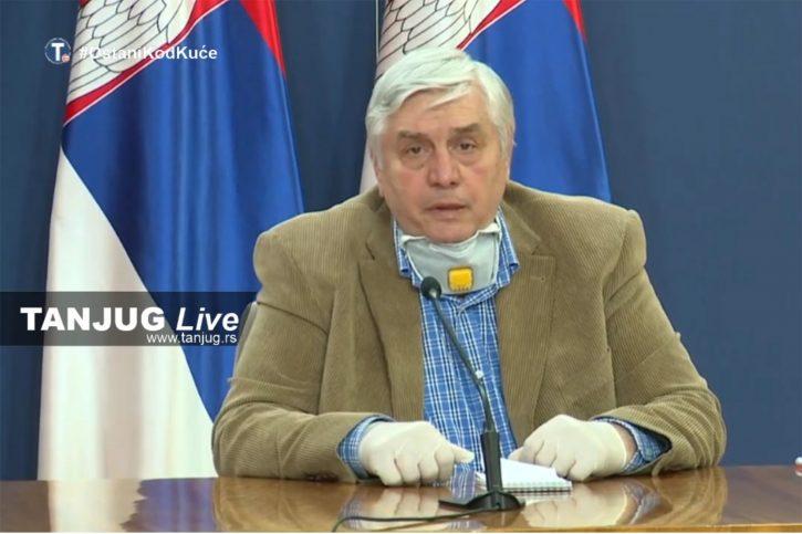 Tiodorović: Epidemiološka situacija i dalje nesigurna