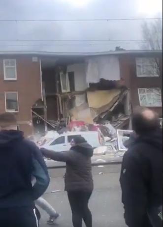 Eksplozija u Hagu, srušio se deo zgrade