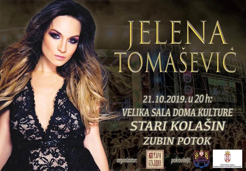 Koncert Jelene Tomašević večeras u Zubinom Potoku