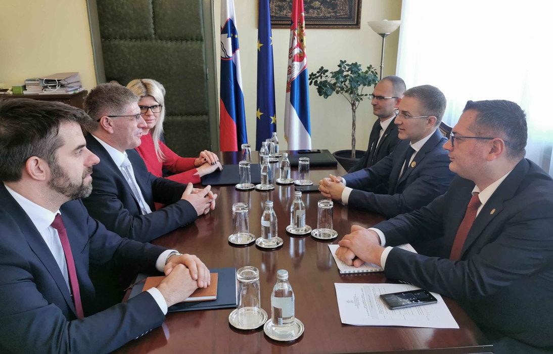Saradnja srpske i slovenačke policije na visokom nivou