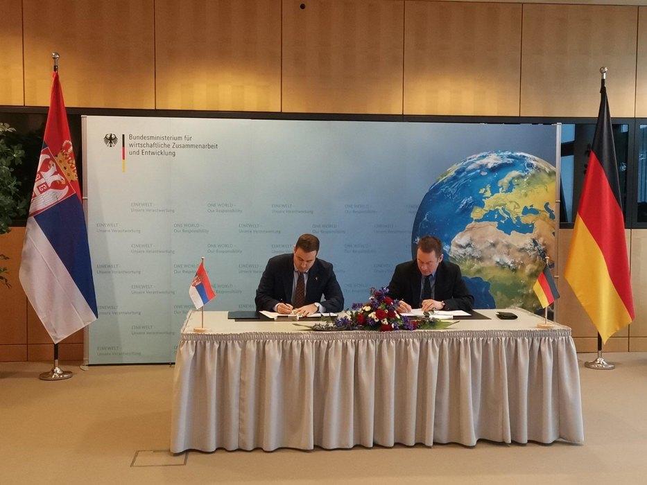 Od Nеmačke do 186 miliona еvra za projekta pristupanja Srbije EU