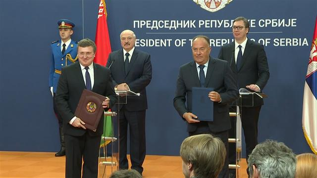 Potpisano sedam sporazuma o saradnji Srbije i Belorusije