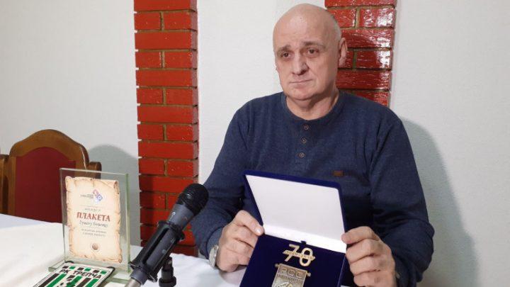 Dušanu Biševcu dodeljeno specijalno priznanje Rukometnog saveza Srbije