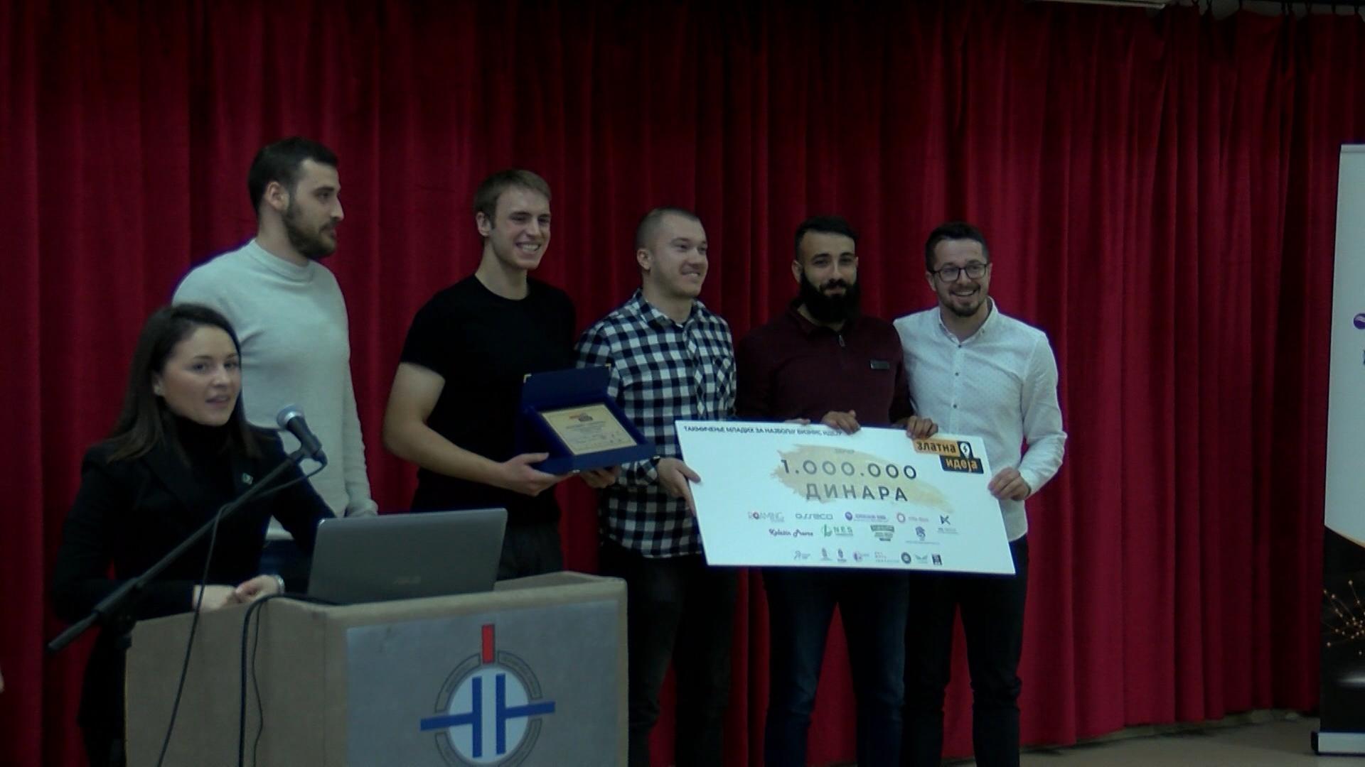 Zlatna ideja studenata sa Tehničkog fakulteta Prištinskog univerziteta iz Kosovske Mitrovice