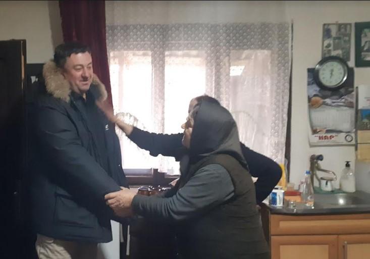 Todosijević sa saradnicima obišao meštane sela Lokve