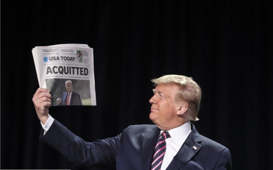 Tramp napao političke protivnike na Molitvenom doručku