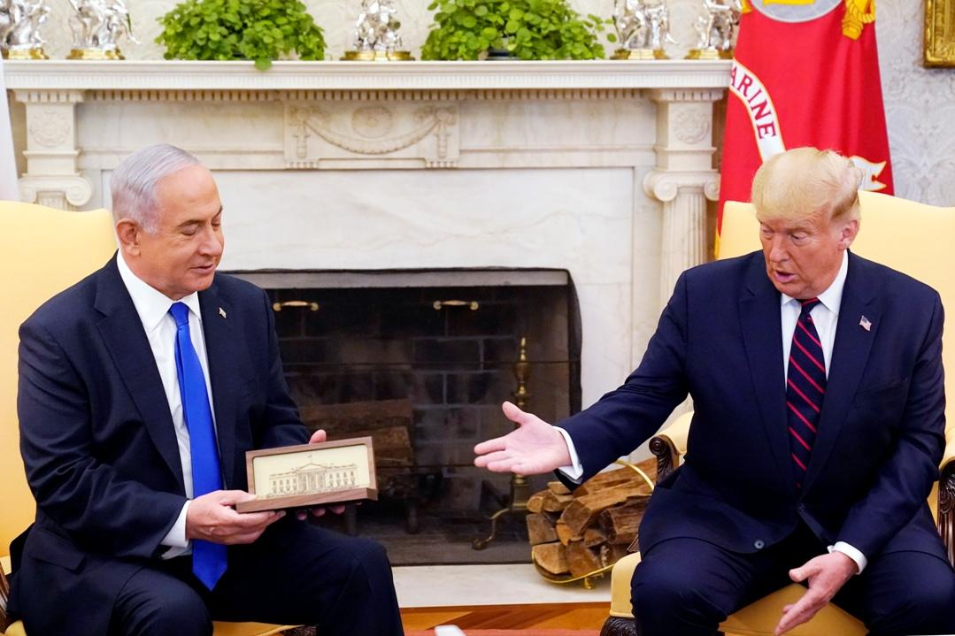 Tramp se sastao sa Netanjahuom i ministrom UAE uoči potpisivanja sporazuma