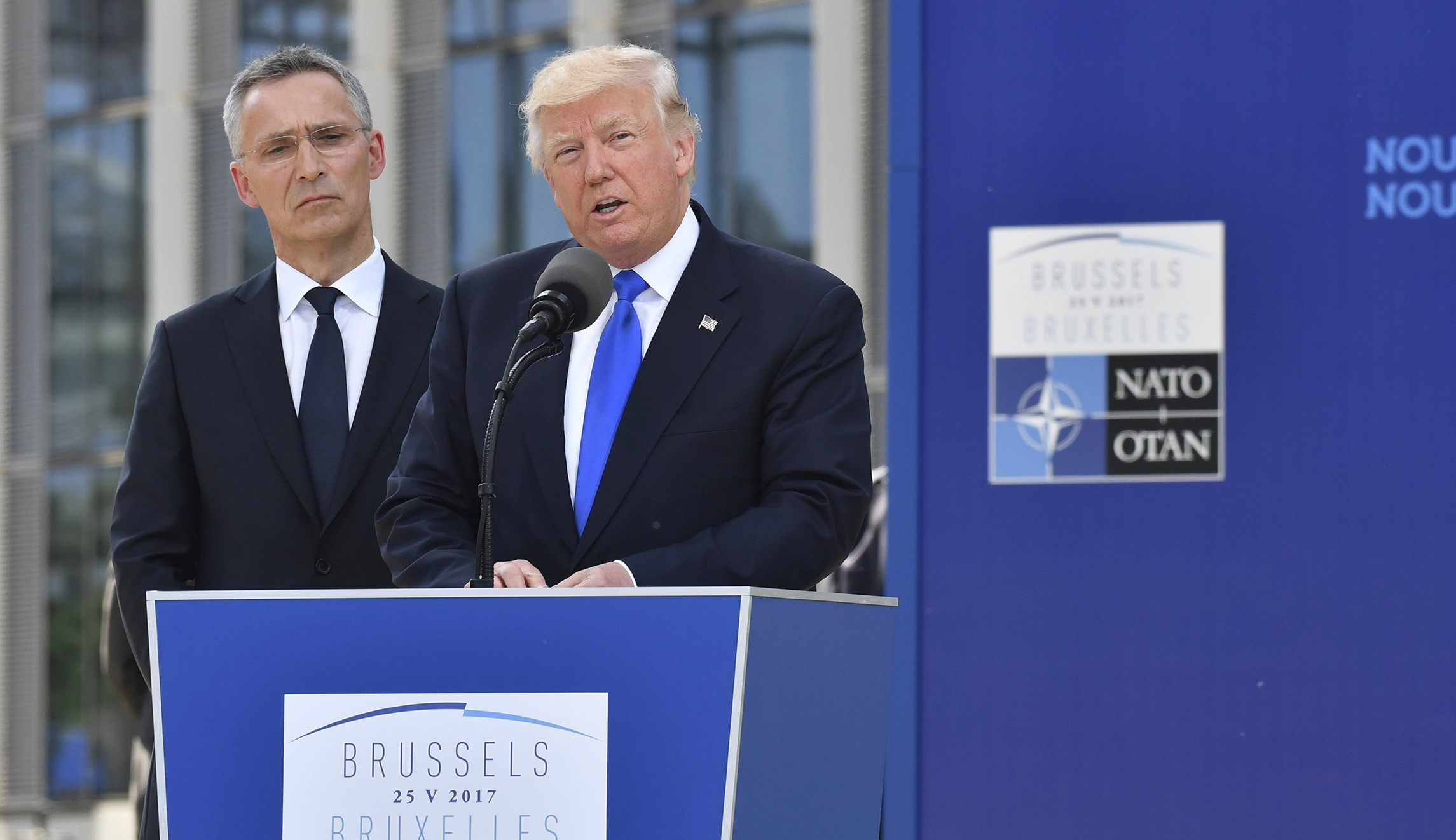 Tramp i Stoltenberg o situaciji na Bliskom istoku