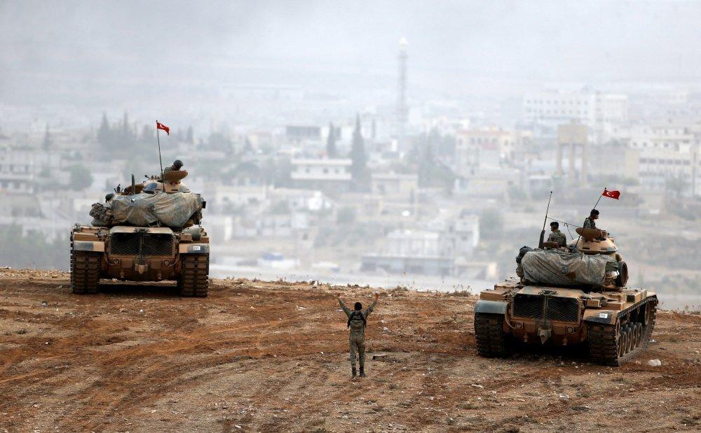 Turska vojska poslala tenkove na granicu sa Sirijom