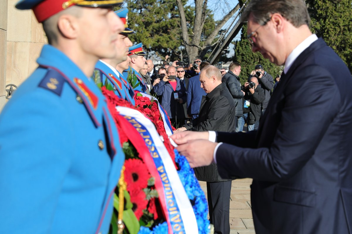 Zvanični Tviter nalog ruskog predsednika prepun utisaka iz Beograda