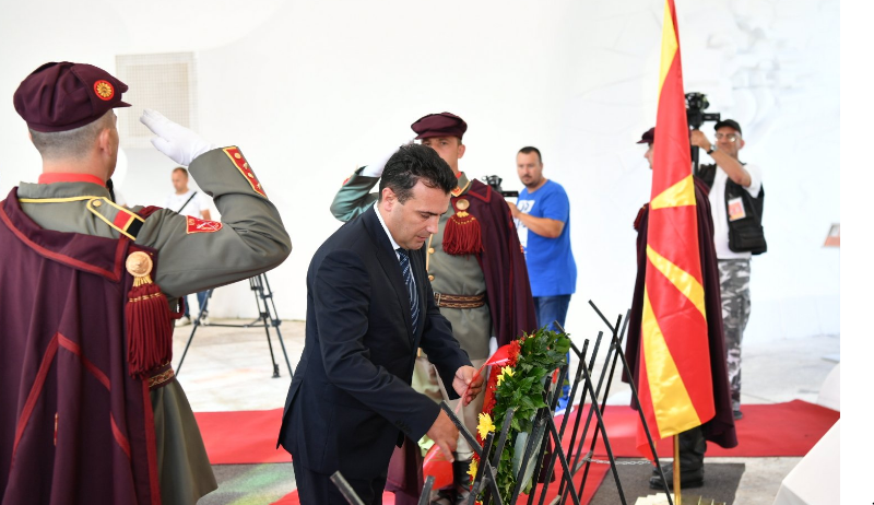 Zaev: Heroji iz makedonske himne borili su se za budućnost