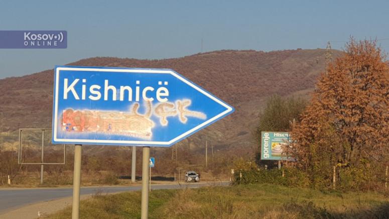 Nova provokacija, natpis OVK ispisan na saobraćajnoj tabli na ulazu u Gračanicu