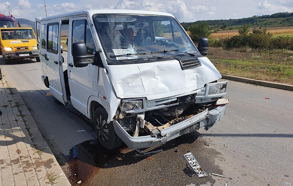 Saobraćajna nezgoda na putu Gračanica - Laplje Selo
