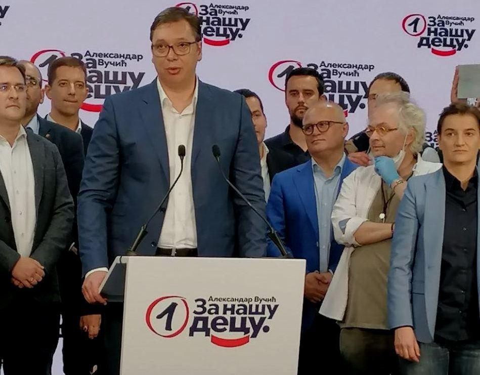 Vučić: Dobili smo ogromno poverenje naroda