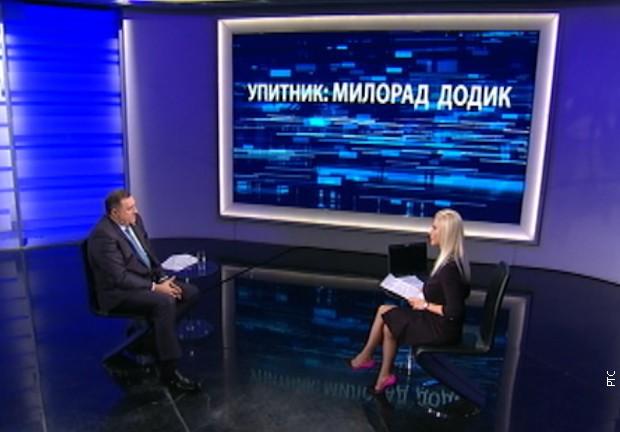 Dodik za RTS: Nisam poveo zemlju u NATO