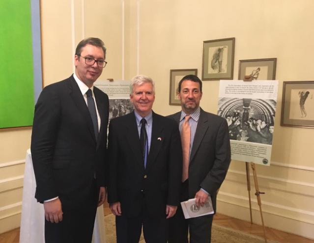Vučić i Skot obeležili godišnjicu operacije Halijard