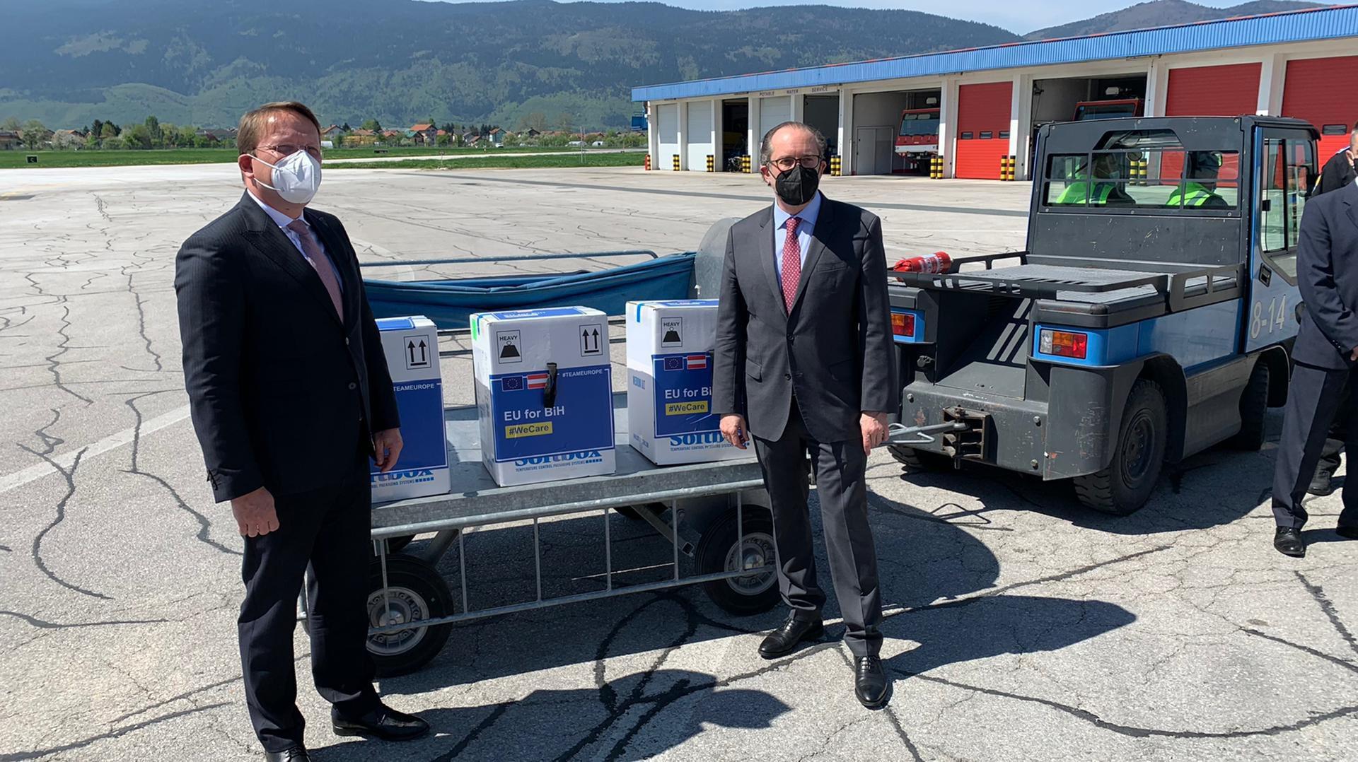 Varheji: EU brine o BiH i stoji uz nju od početka pandemije