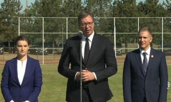 Vučić: Želimo normalne odnose sa Crnom Gorom