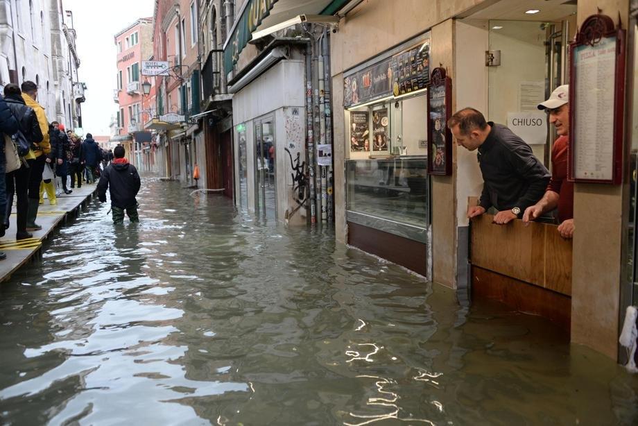 Venecija ponovo pod vodom