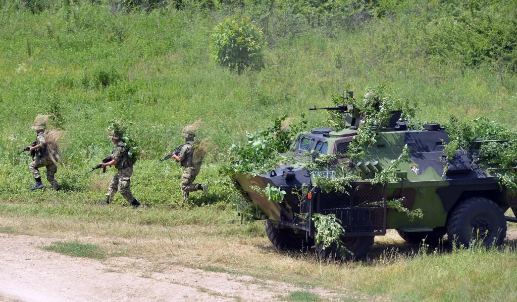 Rusko-srpska vežba