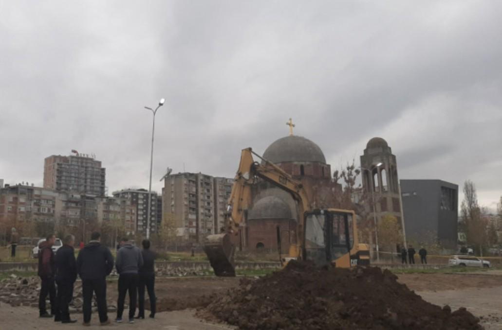 Priština:Tokom iskopavanja nisu pronađeni posmrtni ostaci