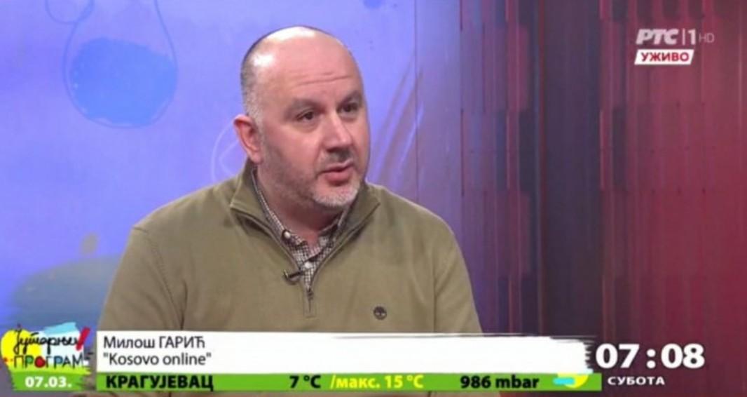 Garić: Na delu transatlantski sukob oko Kosova koji stvara konfuziju među albanskim političarima
