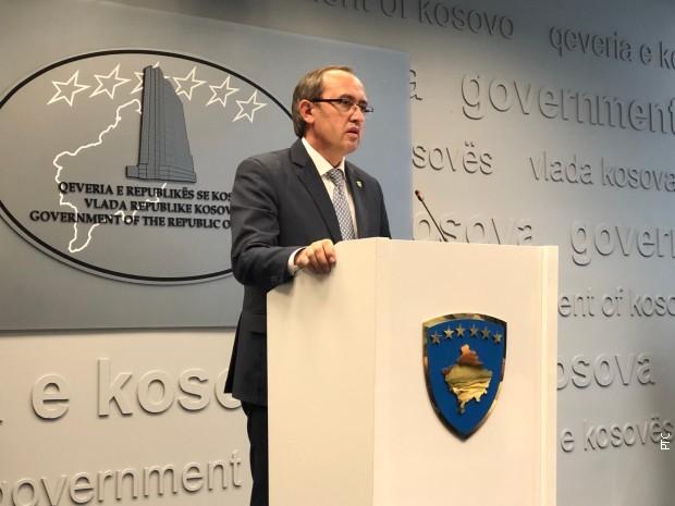 Hoti: Sastanak u Briselu otkazan jer je Beograd hteo dijalog o ZSO