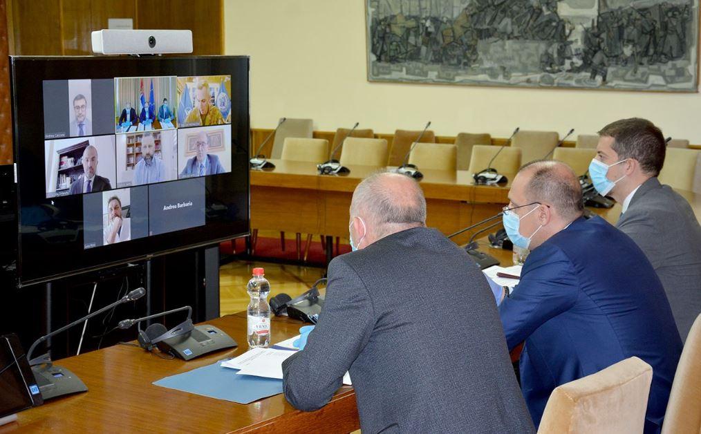 Razgovarali Lončar i Vitia, ambasador Orlando zadovoljan što je Italija bila domaćin
