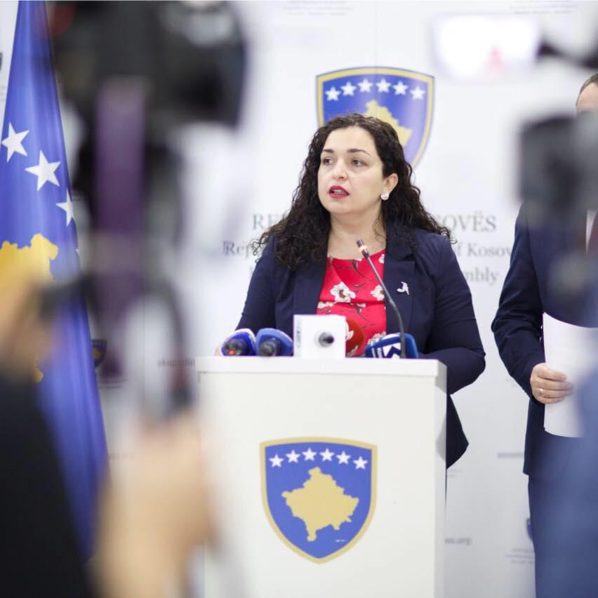Vjosa Osmani iz DSK nova predsednica kosovskog parlamenta