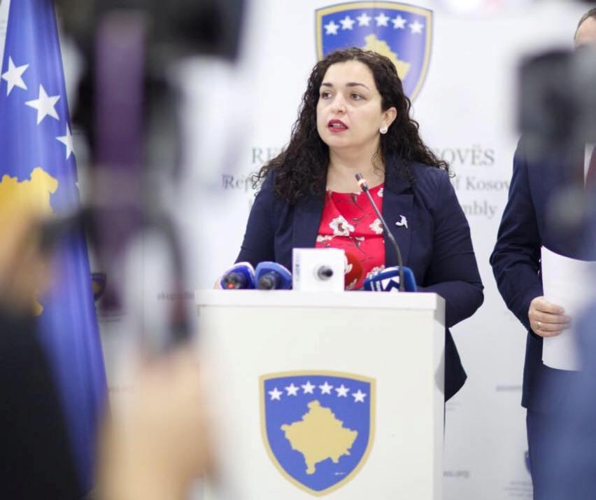 Osmanijeva za razrešenje predstavnika Srpske liste u kosovskoj vladi
