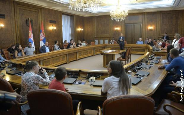 Vlada Srbije otvorila vrata za građane