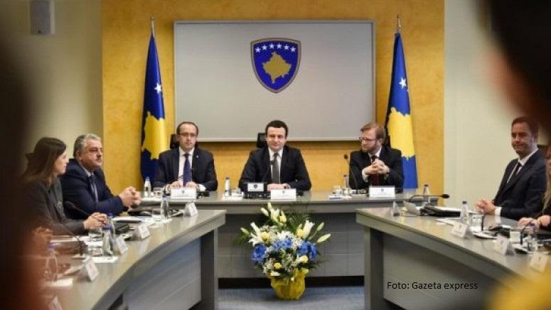 Kosovska vlada odobrila nacrt budžeta za 2020. godinu