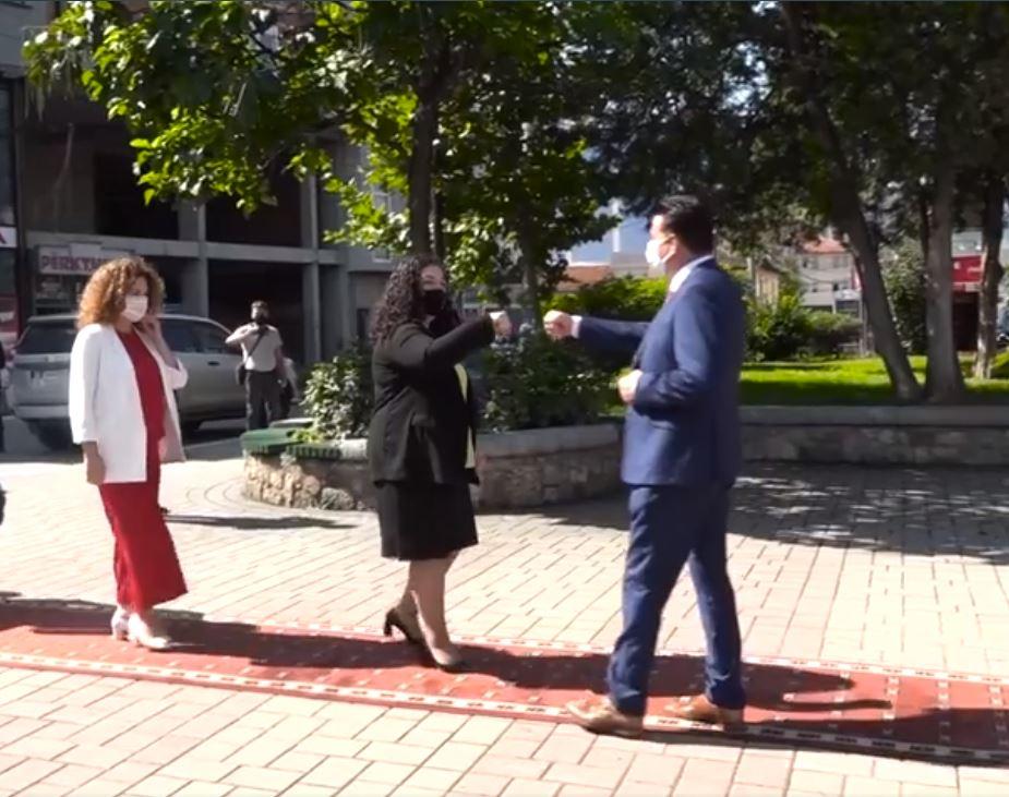 Vjosa Osmani: Ne dozvoljavamo podelu Kosova