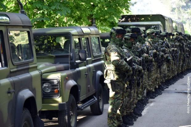 Vulin obišao deo snaga Vojske Srbije