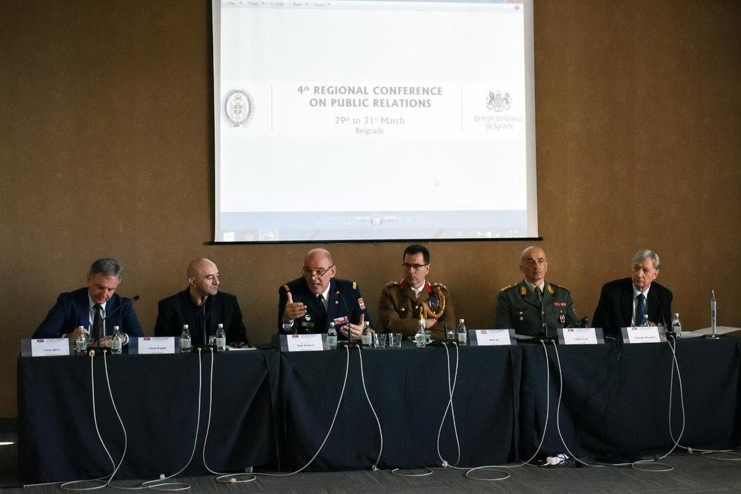 Završena konferencija o vojnom obrazovanju