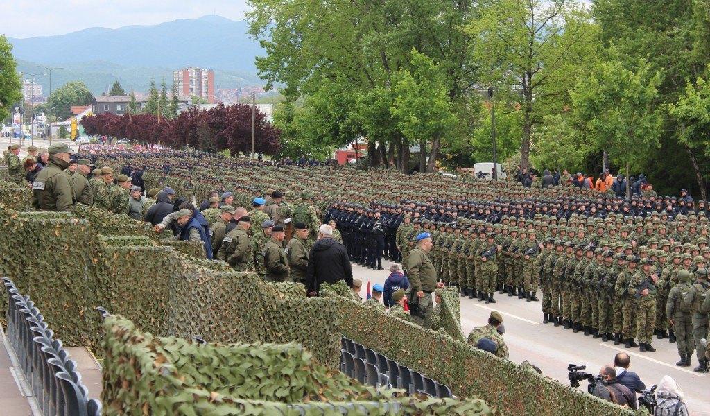Pripreme za prikaz spremnosti vojske zakazan za 10. Maj