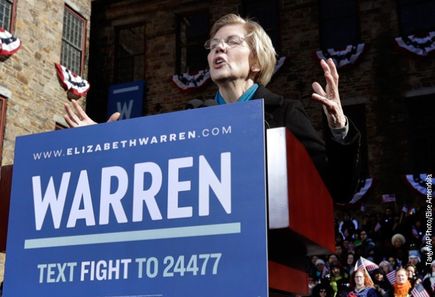 Elizabet Voren se kandidovala za predsednicu SAD