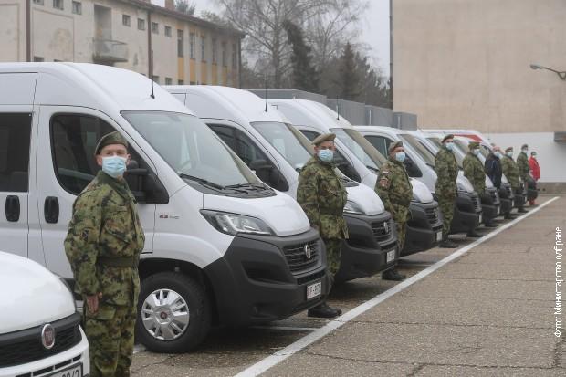 Vojska Srbije dobila nova neborbena vozila