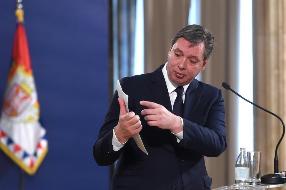 Vučić: Rast veći od očekivanog, hvala građanima Srbije