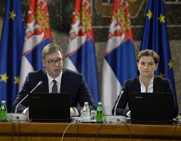 Vučić danas s Brnabić i Selakovićem o regionu