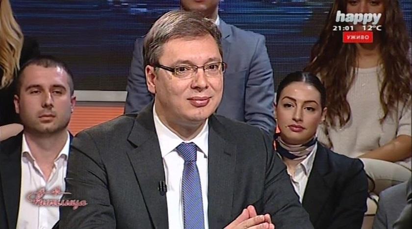 Vučić: U kampanji protiv mene stekli se mnogi interesi