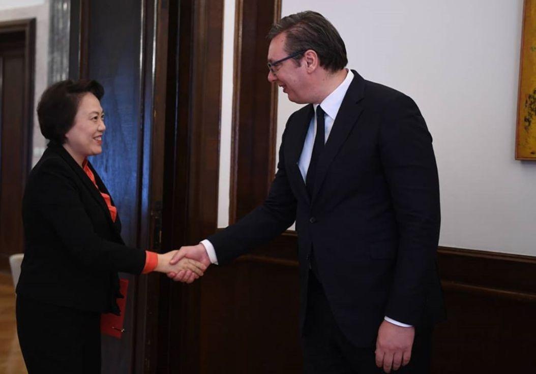 Vučić zahvalan na podršci koju Srbija dobija od Kine i predsednika Sija