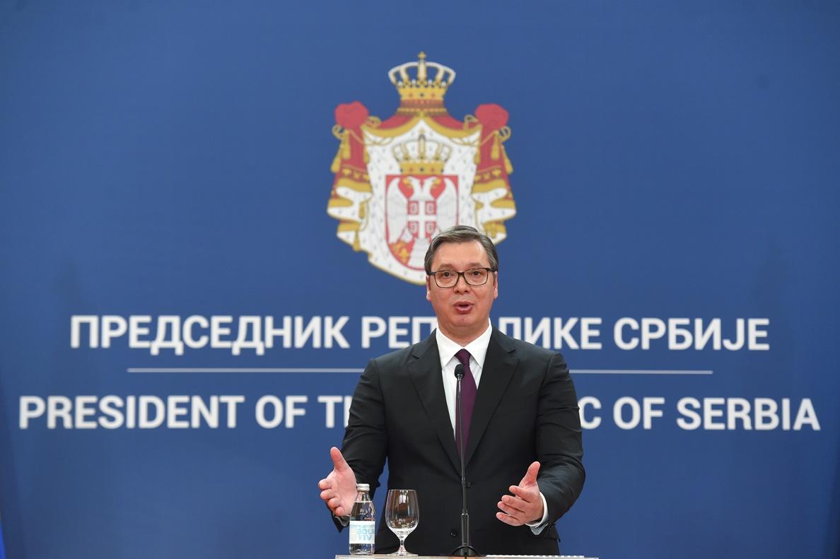 Predsednik Vučić danas se obraća javnosti