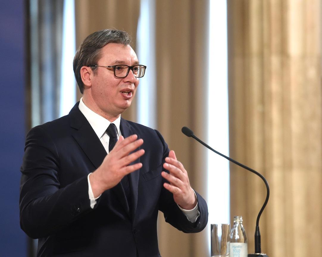 Vučić Pompeu: Sledimo pretke, nepokolebljivi u borbi za mir