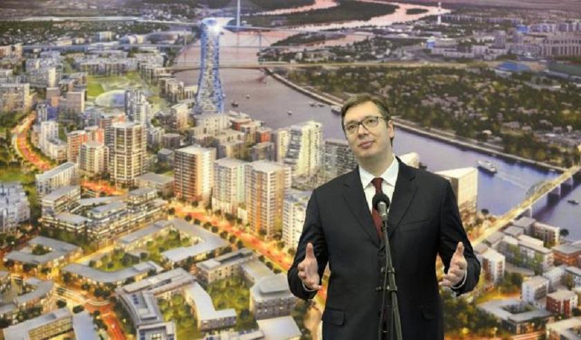 Vučić danas na otvaranju Galerije Beograd