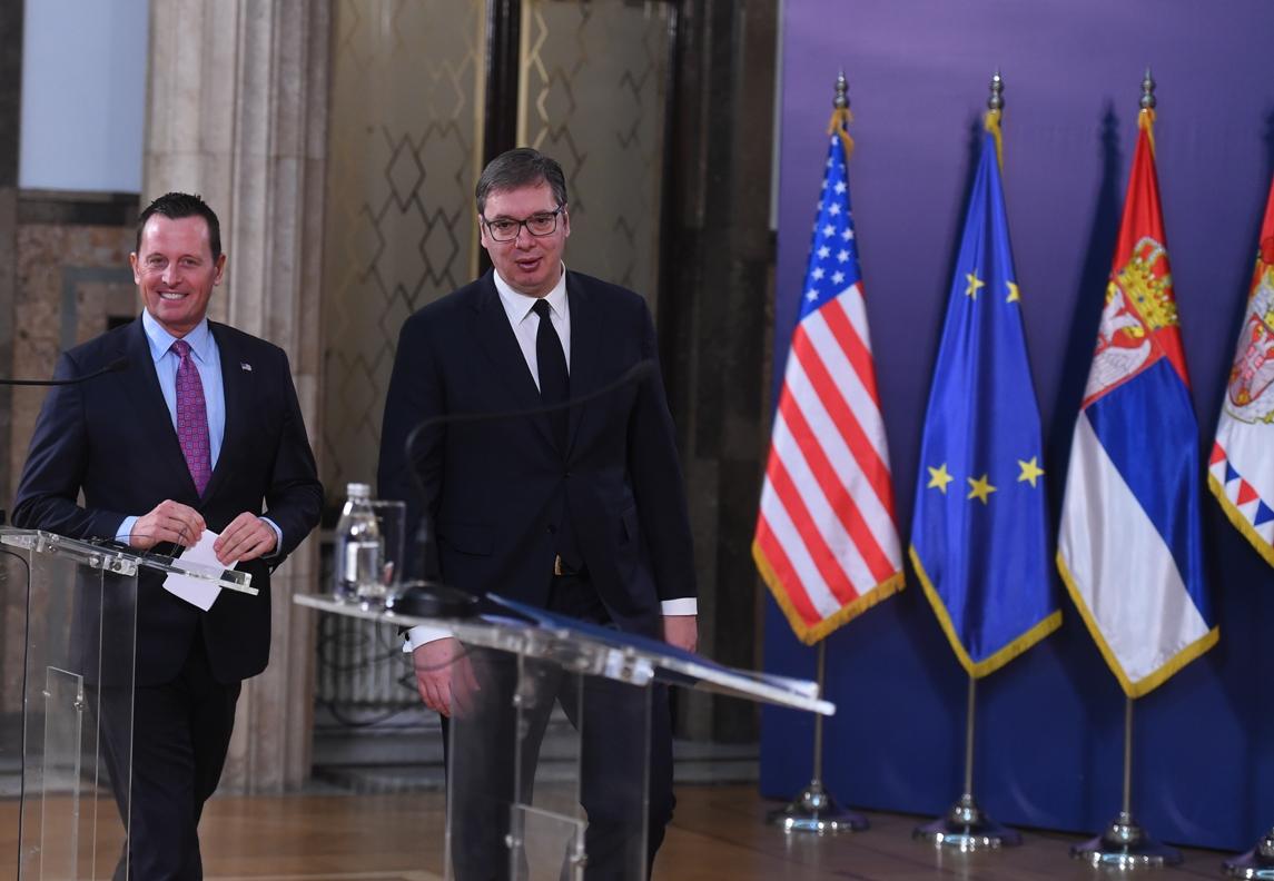 Vučić: Zahvalan Grenelu što je razumeo potrebe Srbije