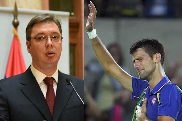 Vučić: Nepravedno izbacili Đokovića, ne mogu da ga pobede