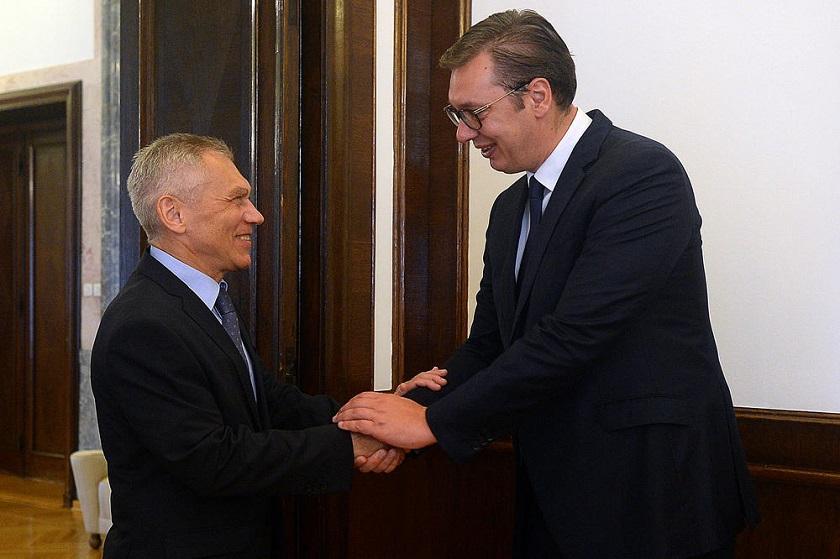 Vučić sa ambasadorom Harčenkom, nisam znao da postoji otrov koji selektivno deluje