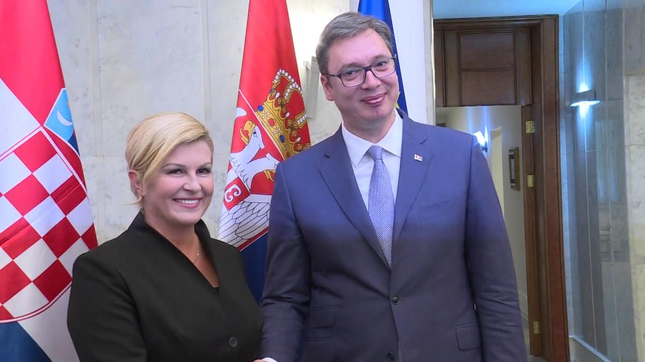 Grabar-Kitarović: Vučićeva namera po pitanju nestalih bila iskrena, nije me