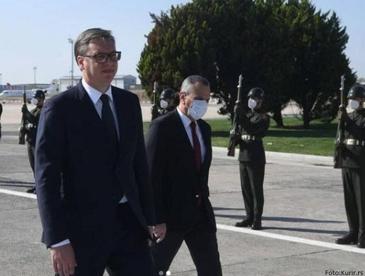 Vučić završio posetu Turskoj